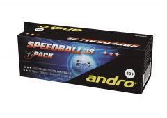 Andro Speedball Poly 3S *** 144 balls White