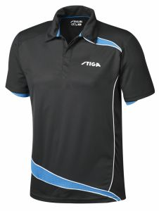 Stiga Shirt Discovery Black/Diva Blue