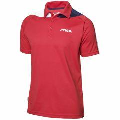Stiga Shirt Pacific Red/Navy/White