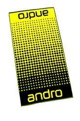 Andro Towel Dots Black/Yellow