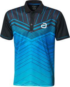 Andro Shirt Letis Black/Blue