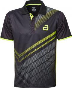 Andro Shirt Liska Black/Yellow
