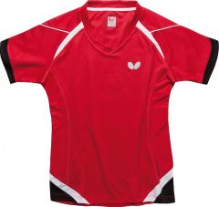 Butterfly Shirt Kido Red Lady