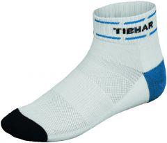 Tibhar Socks Classic White/Blue/Black
