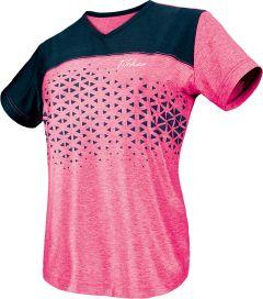 Tibhar Shirt Game Pro Lady Pink/Navy