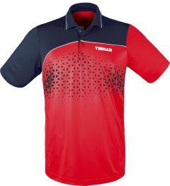 Tibhar Shirt Game Cotton Red/Navy