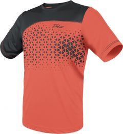Tibhar T-Shirt Game Neon Orange/Grey