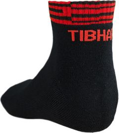 Tibhar Socks Line Black/Red
