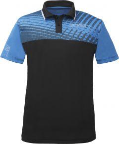 Donic Shirt Makro (Polyester) Diva Blue/Black
