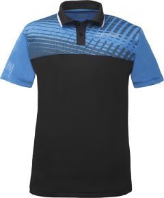 Donic Shirt Makroflex (cotton) Diva Blue/Black