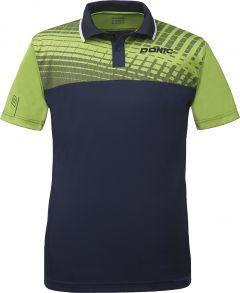 Donic Shirt Makroflex (cotton) Lime Green/Navy