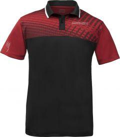 Donic Shirt Makroflex (cotton) Red/Black