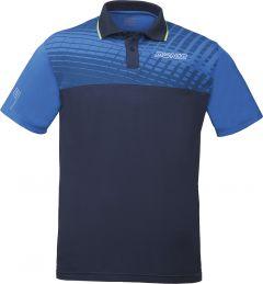 Donic Shirt Makroflex (cotton) Royal/Navy