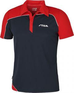 Stiga Shirt Odyssey Navy/Red