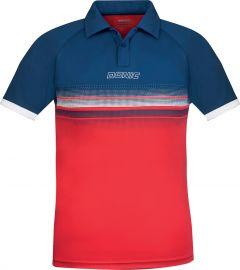 Donic Shirt Draft Navy/Red