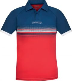 Donic Shirt Draftflex Navy/Red