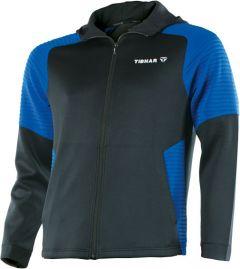 Tibhar Pro Hoodie Black/Blue