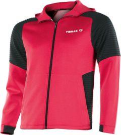 Tibhar Pro Hoodie Red/Black