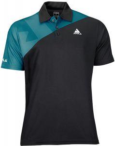Joola Shirt Ace Black/Petrol Blue