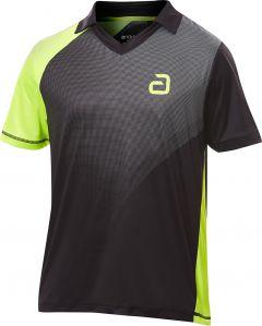 Andro Shirt Campell Black/Yellow