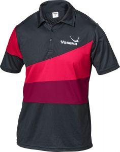 Yasaka Shirt Castor Black/Red