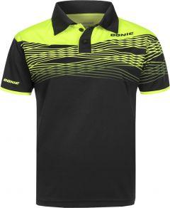 Donic Shirt Clash Black/Fluo Yellow