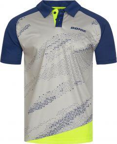 Donic Shirt Mega Grey/Navy/Fluo Yellow