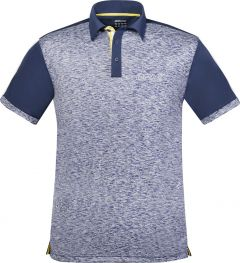 Donic Shirt Melange Pro Blue Melange/Navy