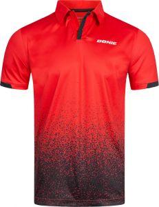 Donic Shirt Splash Red/Black
