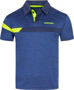 Donic Shirt Stripes Blue Melange