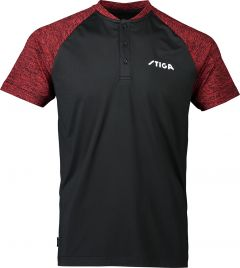 Stiga Shirt Team Black/Red
