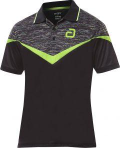 Andro Shirt Teslin Black/Green