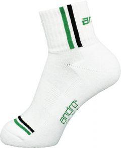 Andro Socks Game White/Green