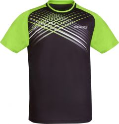 Donic T-Shirt Attack Black/Lime