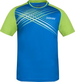 Donic T-Shirt Attack Blue Danube/Lime