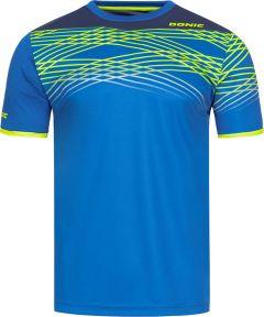 Donic T-Shirt Clix Royal Blue/Navy