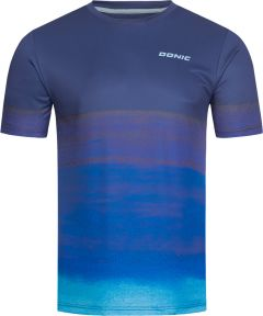 Donic T-Shirt Fade Navy/Blue