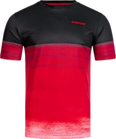 Donic T-Shirt Fade Black/Red
