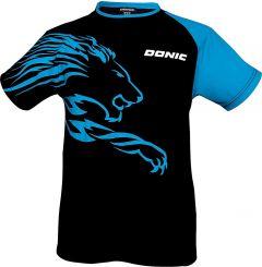 Donic T-Shirt Lion Black/Blue