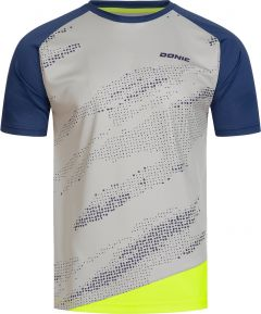 Donic T-Shirt Mirage Grey/Navy/Fluo Yellow