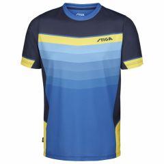 Stiga T-Shirt River Blue/Navy/Yellow