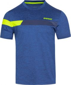 Donic T-Shirt Stunner Blue Melange