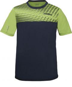 Donic T-Shirt Vertigo Lime Green/Navy