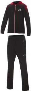 Andro Tracksuit Salivan Black/Red