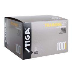 Stiga Training ABS 40+ 100 balls White