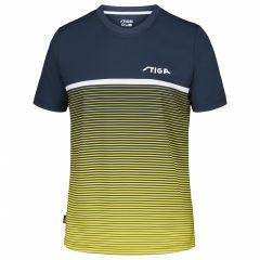 Stiga Shirt Lines Yellow