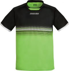 Donic T-Shirt Traxion Black/Lime Green