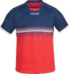 Donic T-Shirt Traxion Navy/Red