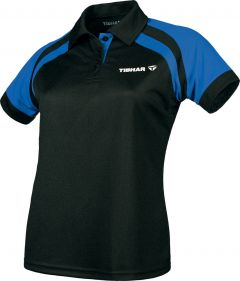 Tibhar Shirt World Lady Black/Blue