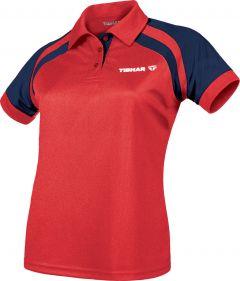 Tibhar Shirt World Lady Red/Navy